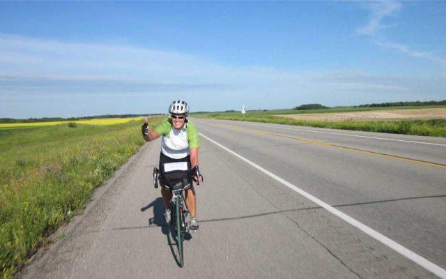 Cycling Across Canada -Tour du Canada Prairie Cyclist
