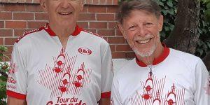Photo of Bud Jorgensen and Richard Hatherill.