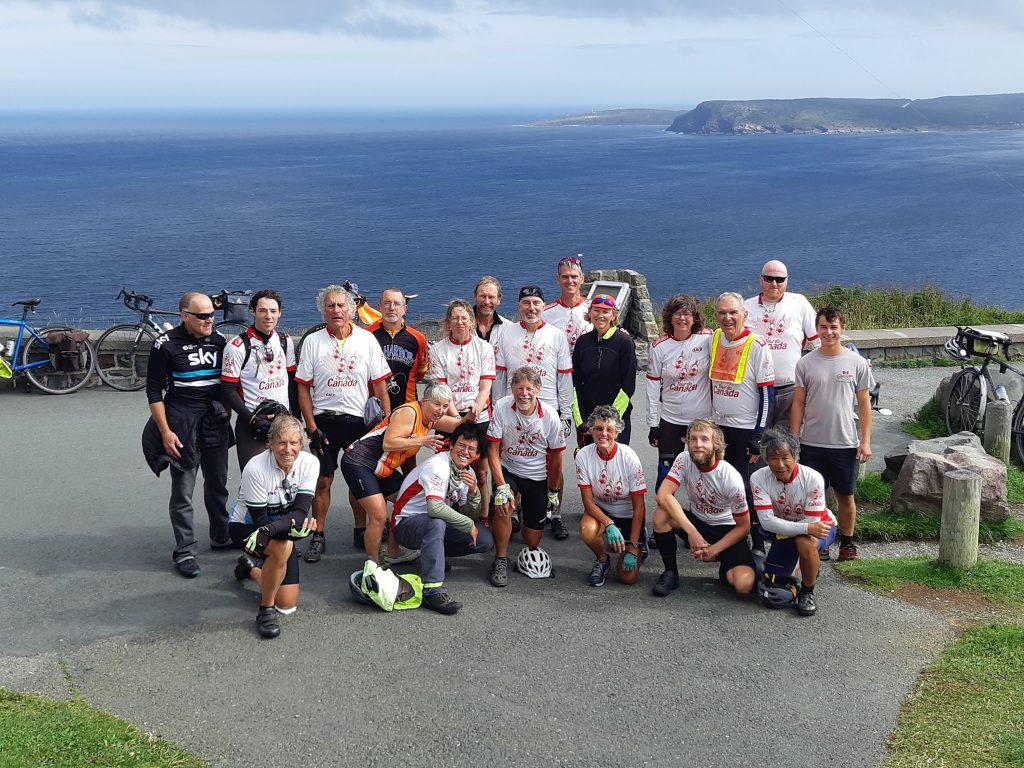 Tour du Canada at Signal Hill, St. John's Newfoundland